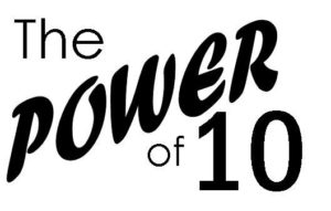 Power of 10 logo